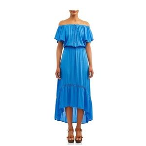 Time and Tru Dresses - Time and Tru Off the Shoulder Dress